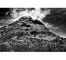 Papago Peak -- Phoenix, Arizona Photographic Print