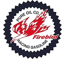 Pure Firebird Racing Gasoline vintage sign reproduction Photographic Print