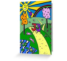 33rd Birthday - The Land Of 33 Greeting Card