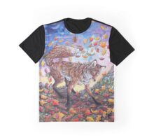 Dance in the Autumn Leaves Graphic T-Shirt