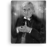 First Doctor Who Canvas Print