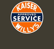 Kaiser Willys Approved Service vintage sign  Unisex T-Shirt