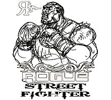 ROGUE STREET FIGHTER Photographic Print
