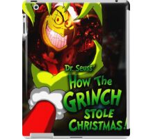 GRINCH FOR CHRISTMAS SMILE iPad Case/Skin