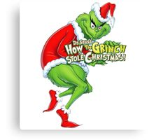 GRINCH FOR CHRISTMAS Canvas Print