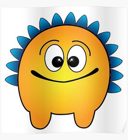 Friendly Monster: Grover Poster
