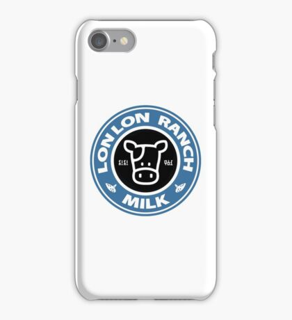 Legend of Zelda: Ocarina of Time Lon Lon Ranch Milk iPhone Case/Skin