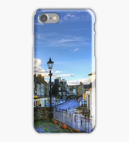The High Street from East Terrace iPhone Case/Skin