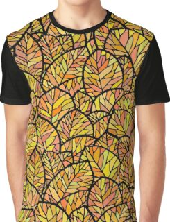 Autumn leaves pattern Graphic T-Shirt