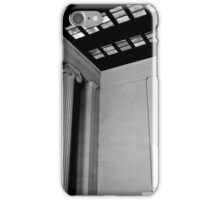 Abraham Lincoln at his Memorial iPhone Case/Skin
