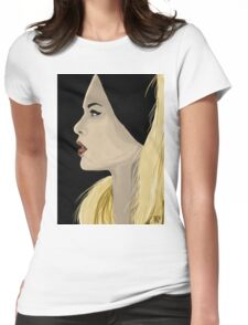 Portait B.B Womens Fitted T-Shirt