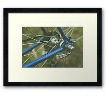 Road Bike Framed Print