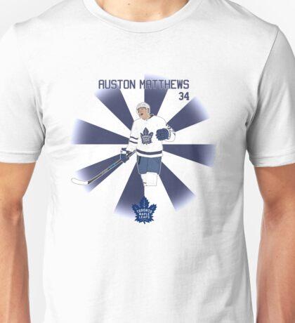 Auston Matthews Toronto Maple Leafs Unisex T-Shirt