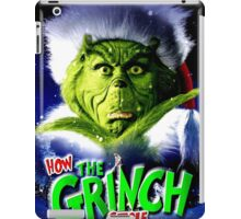 GRINCH FOR CHRISTMAS GREEN iPad Case/Skin