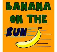 Banana On The Run! Photographic Print