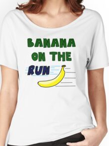 Banana On The Run! Women's Relaxed Fit T-Shirt