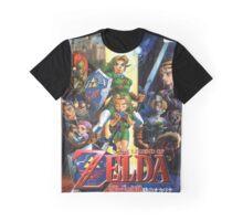LoZ Ocarina of Time Graphic T-Shirt