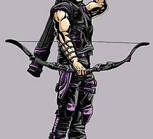 Hawkeye - Ready to go by EJTees