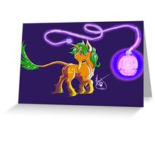 Follow the Lantern Greeting Card