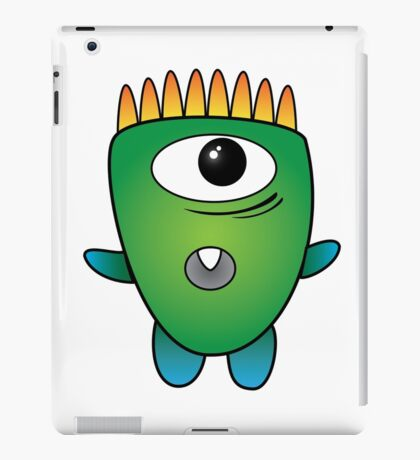 Friendly Monsters: Wallace iPad Case/Skin