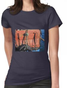Fishing Gear Womens Fitted T-Shirt