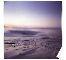 Ibiza Mediterranean chill out sunset sea water Hasselblad analog medium format film photo Poster