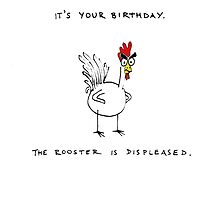 The Birthday Rooster by evilflea