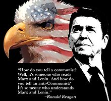 Ronald Reagan - Communists by EJTees