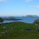Graveyard, Bosta Beach, Western Isles by BlueMoonRose