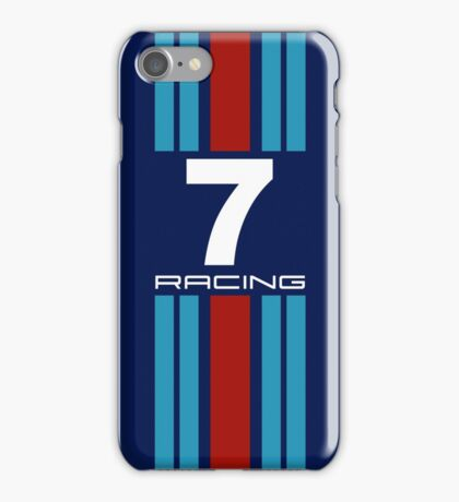 Racing Colours No7 iPhone Case/Skin