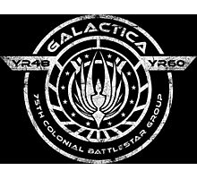Galactica BS-75 Photographic Print