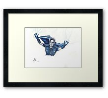 Storm (Halle Berry in X-Men: Days of Future Past) Framed Print