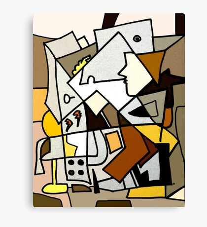After Picasso - Cubist Theory Canvas Print
