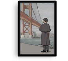 Sherlock Holmes in San Francisco Canvas Print