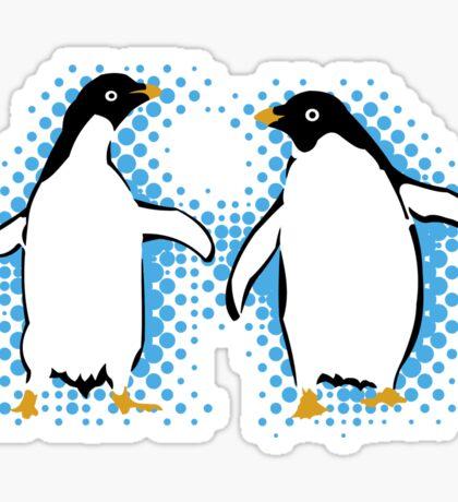 Dancing Penguins Sticker