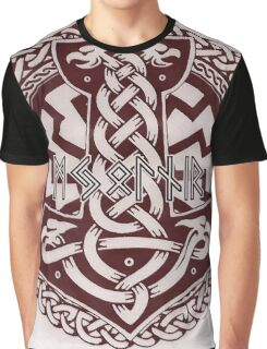 The Mighty Mjolnir Graphic T-Shirt