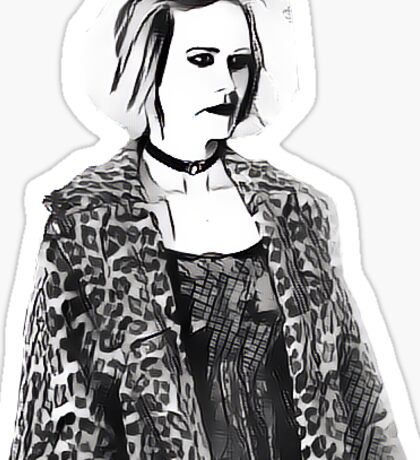 Hypodermic Sally Sticker