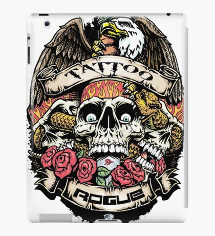 ROGUE TATTOO iPad Case/Skin