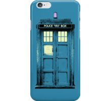 Warhol TARDIS iPhone Case/Skin