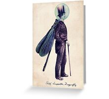 Inspector Dragonfly Greeting Card