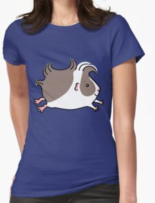 Leaping Guinea-pig ... Grey and White T-Shirt