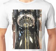 Abstract photograph of Classic vintage Singer motorbike, home decor, gifts and greetings cards. Unisex T-Shirt