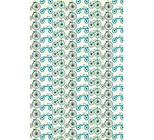 bicycle pattern Photographic Print