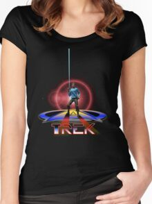 Spock Tron Women's Fitted Scoop T-Shirt