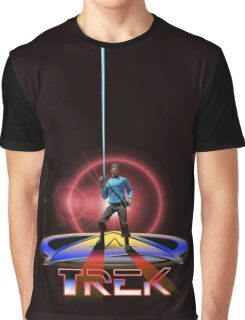 Spock Tron Graphic T-Shirt