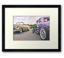 American Icons Framed Print