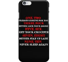 FREDDY'S SONG iPhone Case/Skin