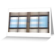 Window Panes #2 Greeting Card