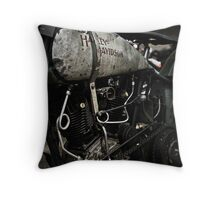 Vintage Harley Davidson Throw Pillow