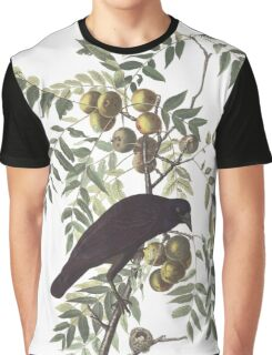 Crow - John James Audubon Graphic T-Shirt